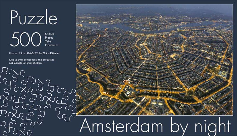 amsterdam_by_night_kokerpuzzel inlay 500pcs_2014